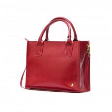 """""""Nova"""" bag genuine leather, red colour"""