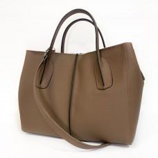 """Forta"" bag genuine leather, cappuccino color"
