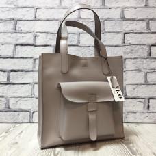"""Garda"" bag genuine leather, bright lavender colour"