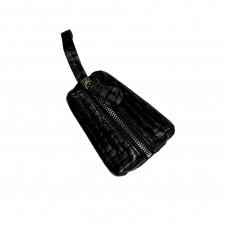 "Key holder ""Kia"" genuine leather, black color"