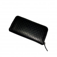 "Purse ""Richie"" genuine leather, black color"