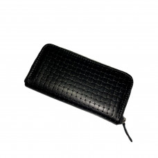 "Purse ""Richie"" genuine leather, black color"