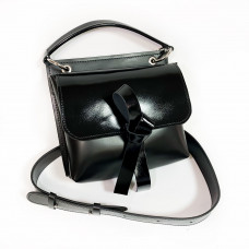 """""""Odry"""" bag genuine leather, black color"""