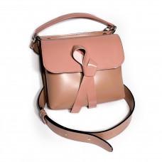 """""""Odry"""" bag genuine leather, pink color"""