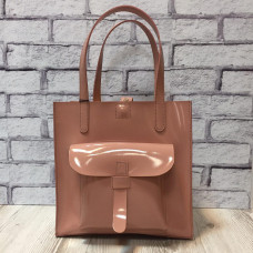 """Garda"" bag genuine leather, pink colour"