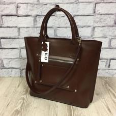 """Siyena"" bag genuine leather, blown color"