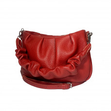 """""""Rumba"""" bag genuine leather, red color"""